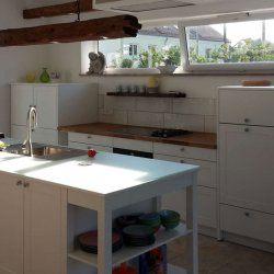 Abschlussregal Küche Mattlack